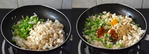 stuffed mushrooms recipe-Indian style