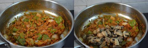 Kadai Mushroom recipe