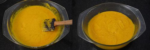 mango sooji cake recipe