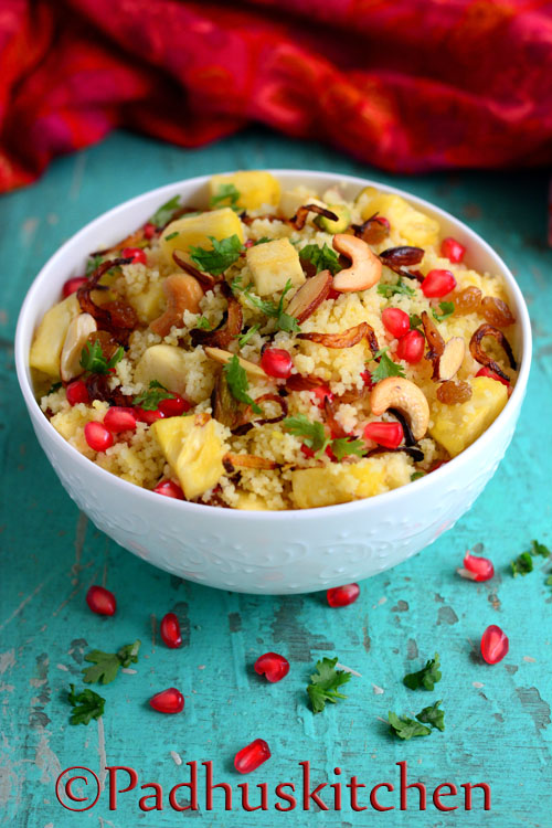 Couscous with Fruits and Nuts