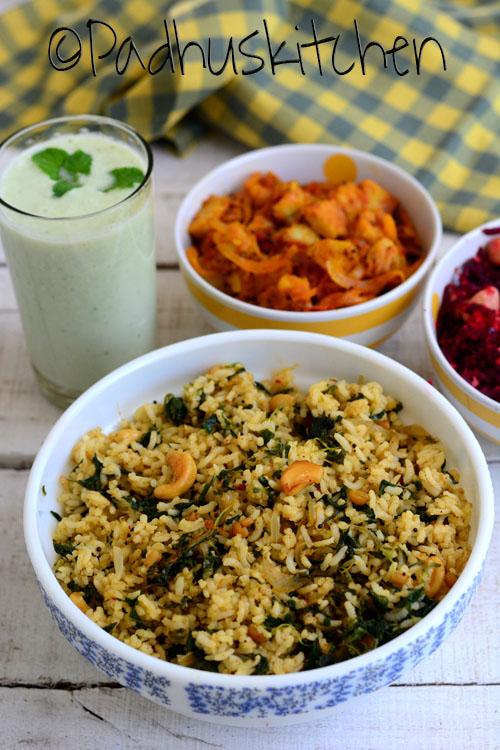 Keerai Sadam-Keerai rice