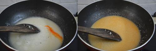 Beaten rice kesari