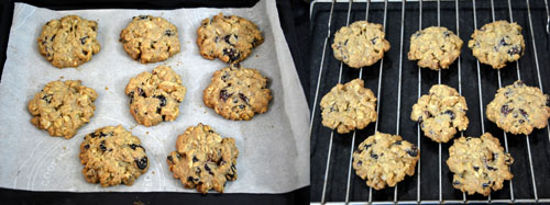 how to make Oats Cranberry Walnut Cookies
