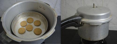 cookies in cooker