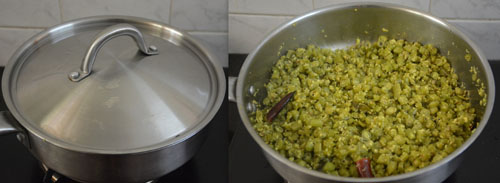 French Beans thoran-Kerala style