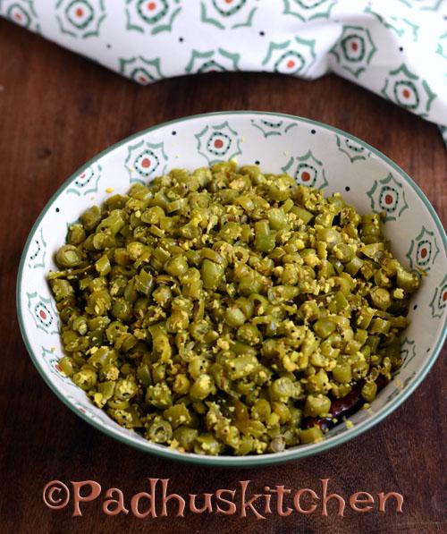 Beans Thoran-Kerala Style French Beans Stir Fry