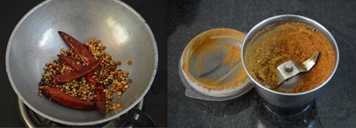spice powder for kadamba sadam