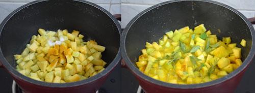 Kerala Style yellow Pumpkin Pachadi