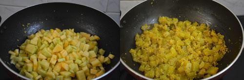 Pumpkin Stir Fry