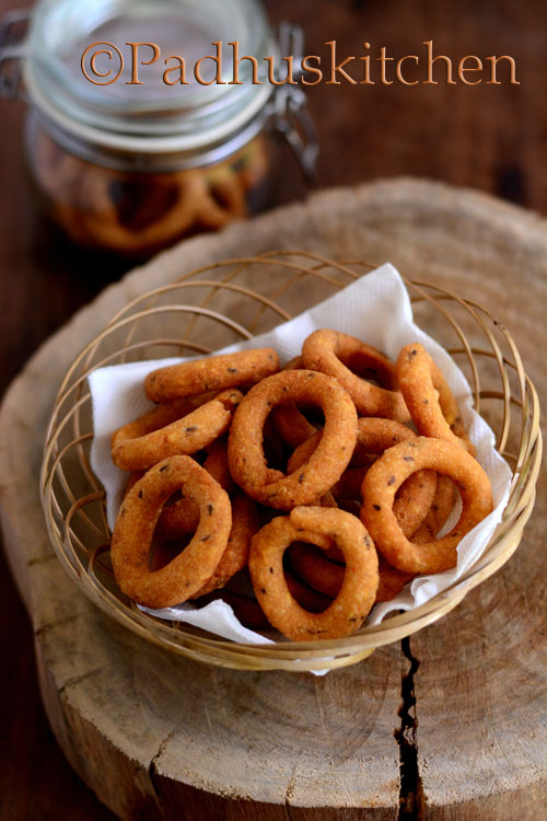 Ring Murukku Recipe-Chegodilu
