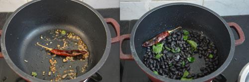 Black Beans Sundal recipe
