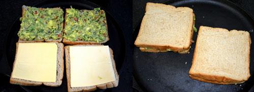 how to make avocado sandwich