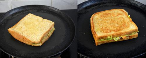 Easy avocado sandwich