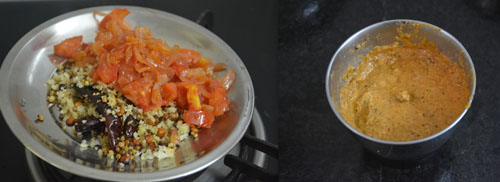 preparation of masala for hotel sambar