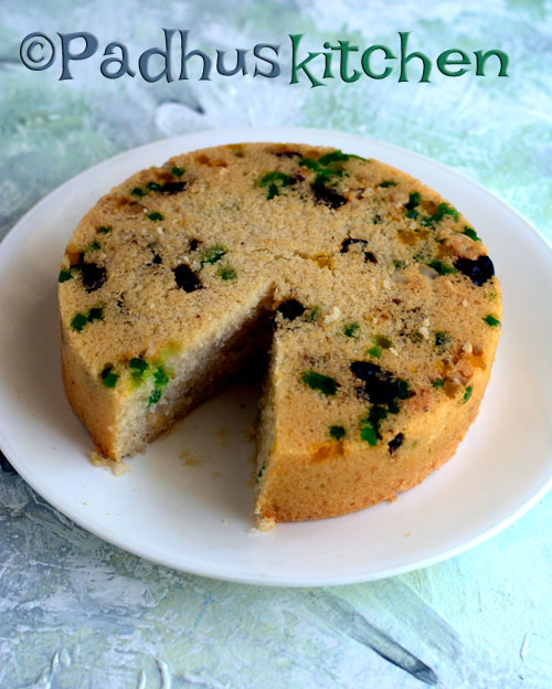 Eggless Rava Cake-Eggless Semolina Cake