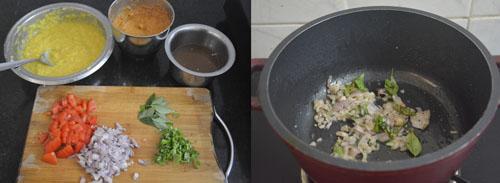 how to make hotel style sambar