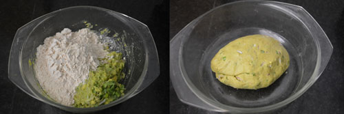 Avocado Chapati-Desi Recipes with avocado
