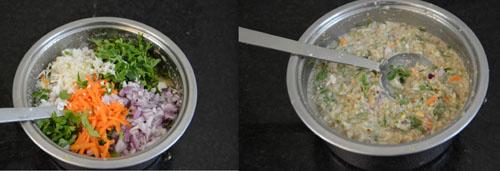 Horse gram Vegetable Adai Recipe