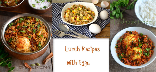 Lunch Recipes with Eggs-Egg Lunch Recipes