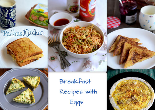 Breakfast Recipes with Eggs-Egg Breakfast Recipes