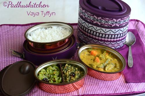 Vaya lunch box- lunch in vaya lunch box