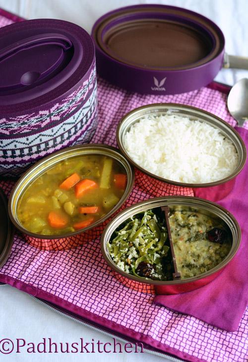 Lunch in Vaya Tyffyn box