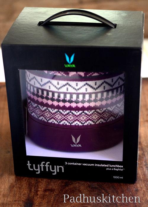 Vaya Tiffin Boxes-wool variant