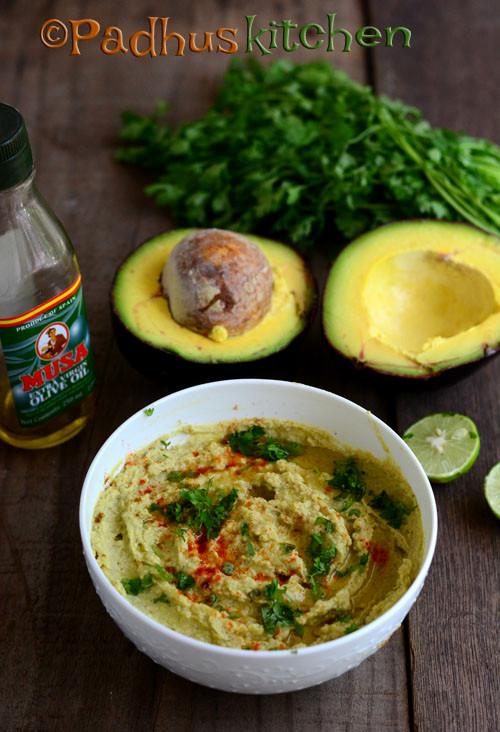 Avocado Hummus-Avocado Hummus Recipe