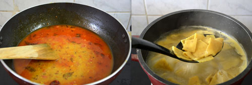 How to make Dal Dhokli