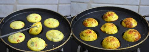 Chettinad egg paniyaram