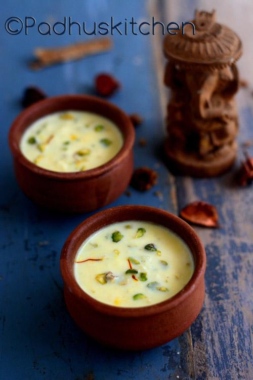 Basundi-Basundi Recipe without condensed milk