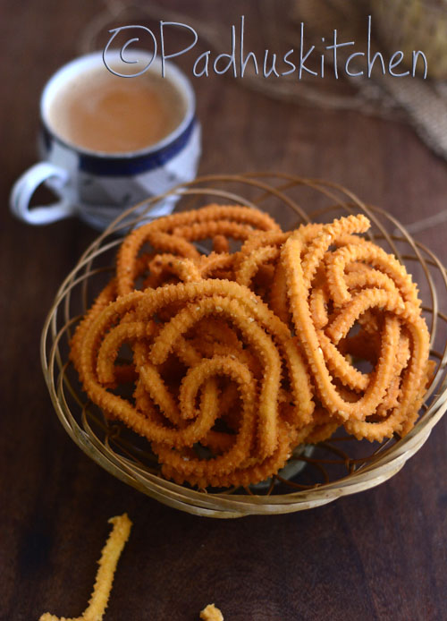 Easy Mullu Murukku-Diwali Snacks