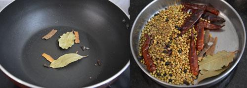 Homemade Kadai Masala podi
