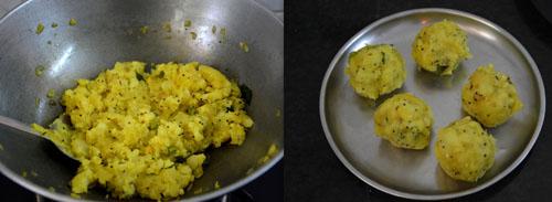 Potato Stuffed Masala Buns recipe