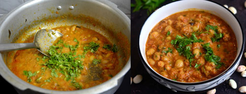Butter beans kurma recipe