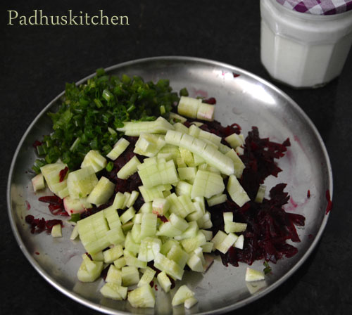 how to prepare beetroot cold soup