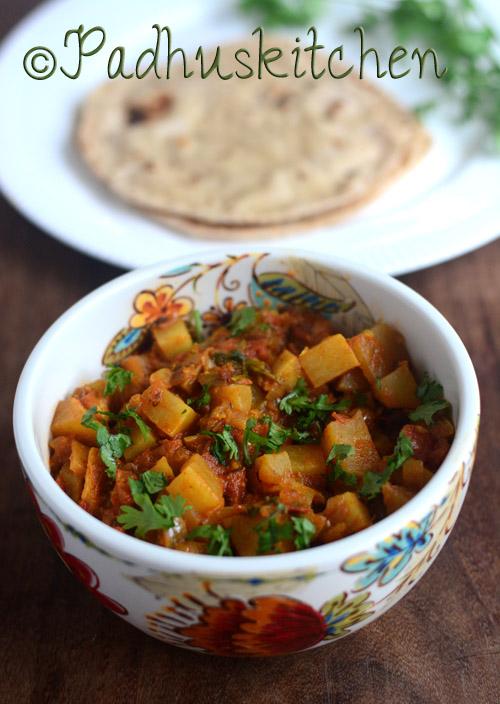Turnip Curry-Shalgam Ki Sabzi