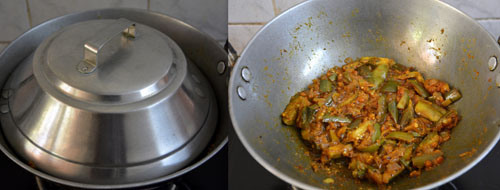 Karnataka Style Brinjal Rice Recipe