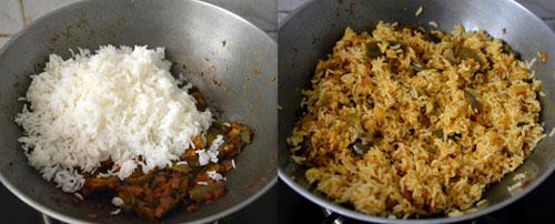 Karnataka Style Brinjal Rice