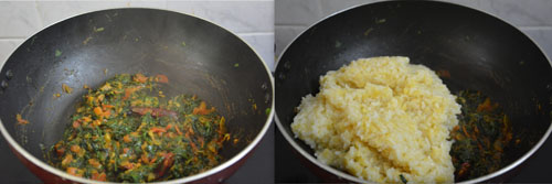 Fenugreek Leaves Khichdi
