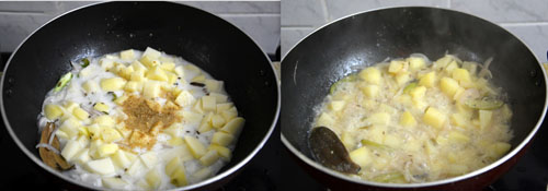 Kerala style potato stew
