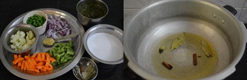 coconut milk vegetable green pulao
