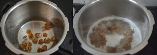 making soapnut liquid