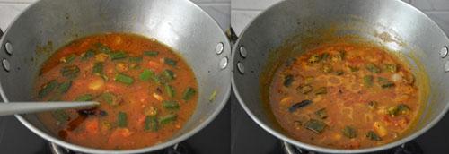 Vendakkai Puli Kulambu Recipe