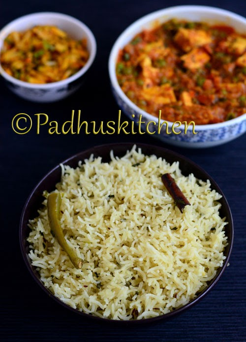 Thengai Paal Sadam-Coconut Milk Rice