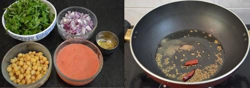 how to make methi chole sabzi/curry