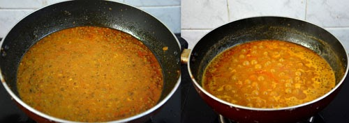 misal pav gravy in the making