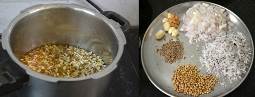 ingredients for misal pav