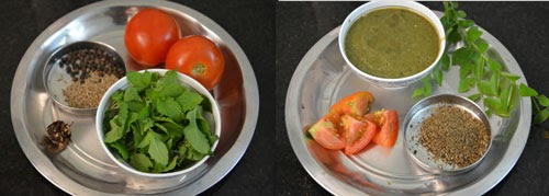 how to make mint rasam