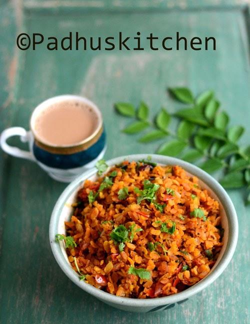 Tomato Poha-Thakkali Aval